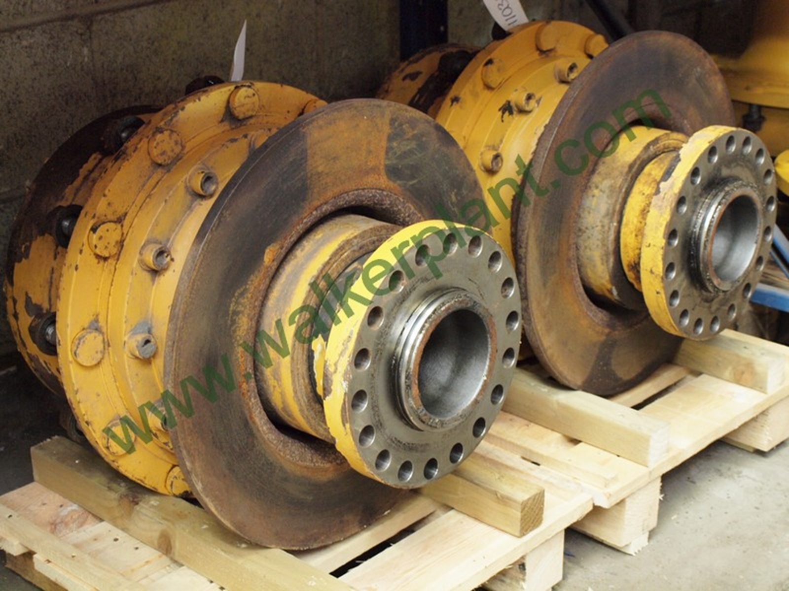 Volvo A30D Axle Wheel Hub Assembly