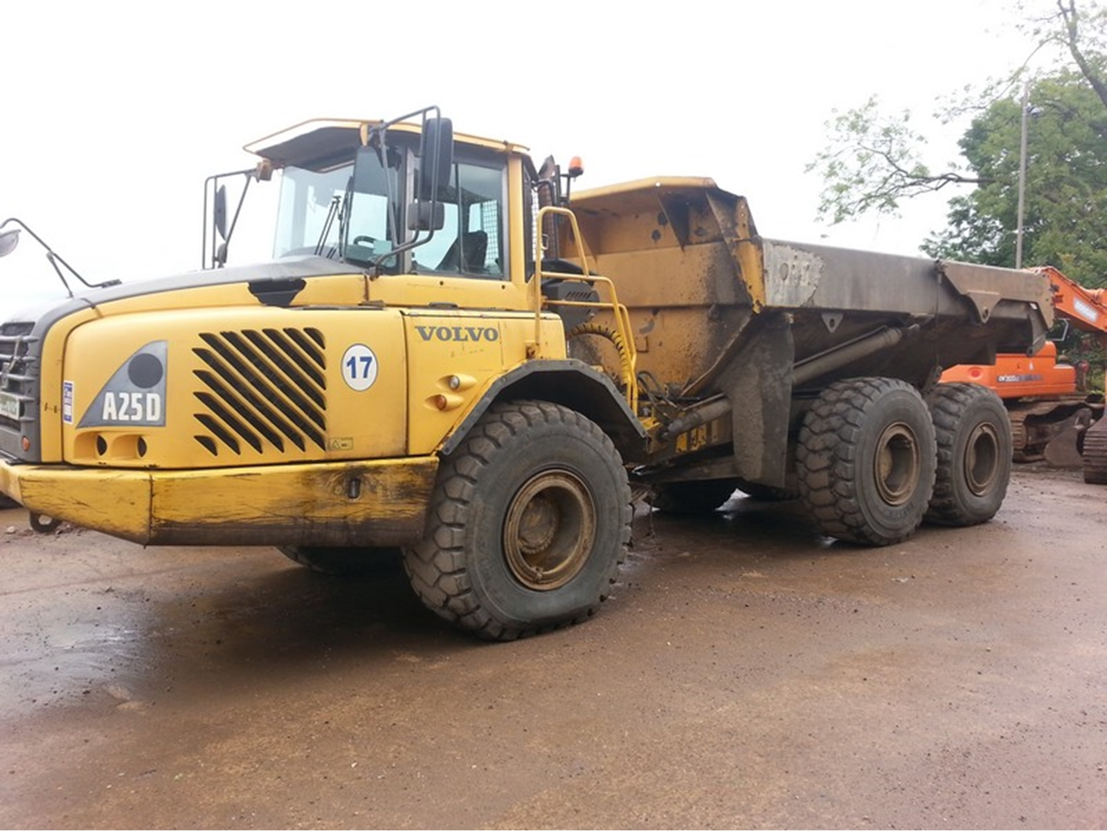 Volvo A25D - 2003 - Dismantling for spares